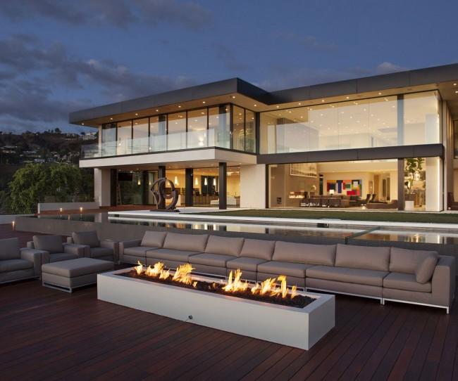 ngắm kiến trúc, và nội thất của ngôi biệt thự triệu đô tại Losangeles