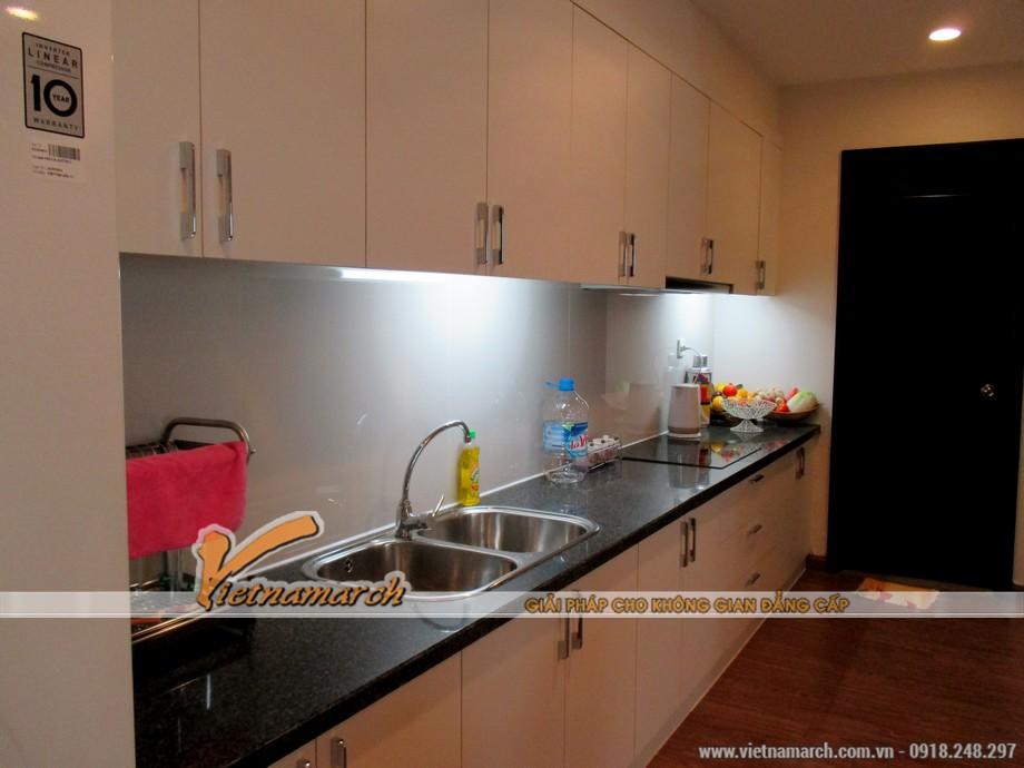 Thiết kế nội thất chung cư Times City căn hộ T11-03-09 phòng bếp 06