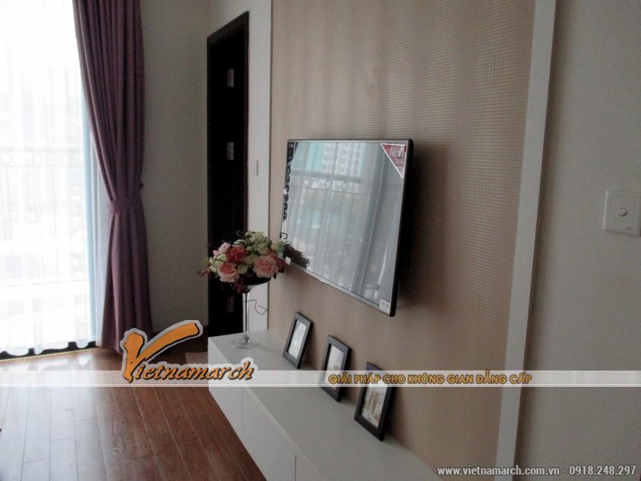 Nội thất phòng ngủ trong căn hộ T11-03-09 chung cư Times City 11