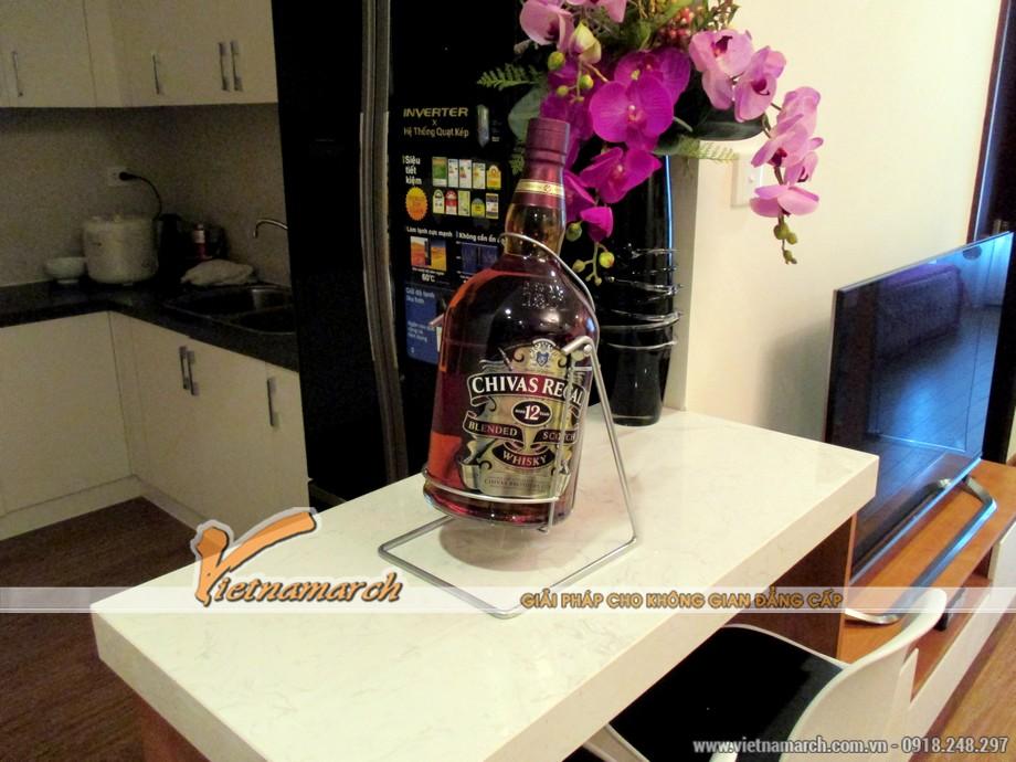 Vietnamarch hoàn thiện thiết kế, thi công nội thất cho căn hộ T11-17-16 chung cư Times City