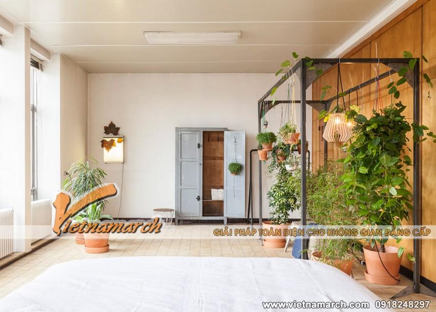 Thiết kế nội thất đẹp cải tạo văn phòng thành không gian sống 02