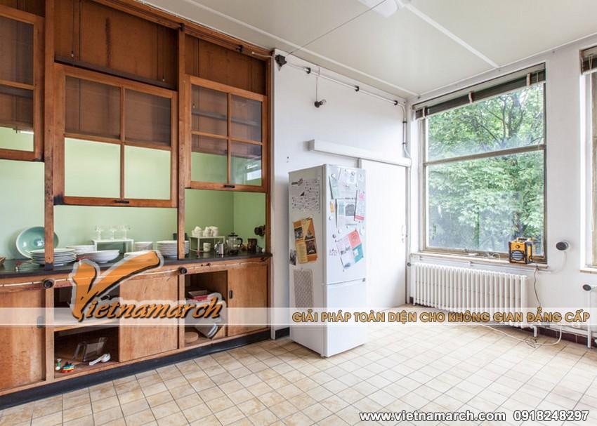 Phòng bếp rộng rãi và có những thiết kế khá phóng thoáng, đơn giản nhưng lại rất đầy đủ tiện ích.