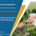 50 Mẫu nhà thờ họ, nhà từ đường cổ kính thiết kế và thi công bởi Vietnamarch