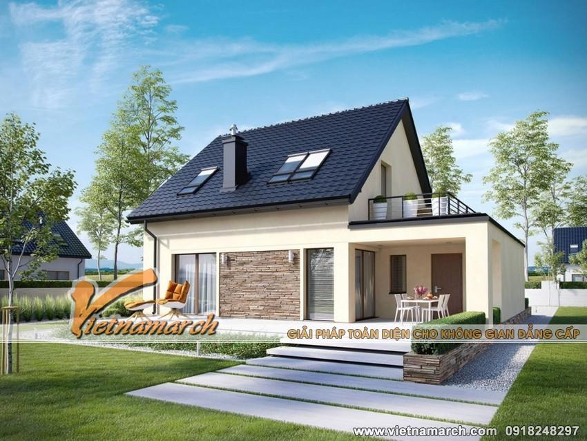 Thiết kế nhà cấp 4 hiện đại tại Hưng Yên 01