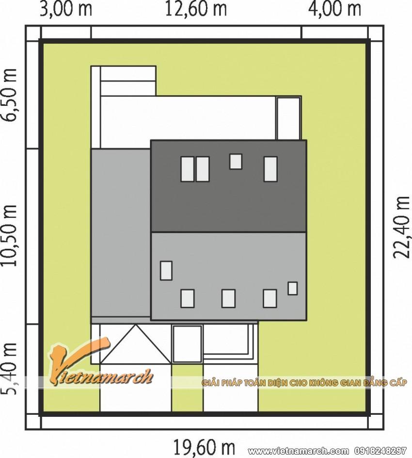 Thiết kế nhà cấp 4 hiện đại tại Hưng Yên 05