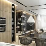 Thiết kế nội thất hiện đại trong căn hộ cao cấp