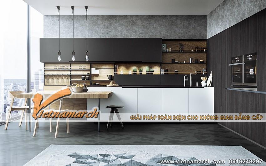 Thiết kế nội thất nhà bếp đẹp 01
