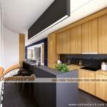 Thiết kế phòng bếp dành cho chung cư cao cấp