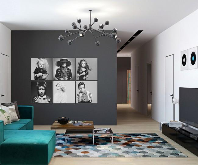 Thiết kế nội thất căn hộ chung cư Times City phong cách hiện đại