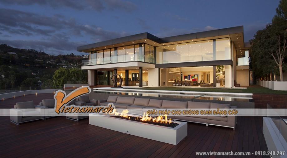 Thiết kế ngôi biệt thự triệu đô tại Los Angeles 01
