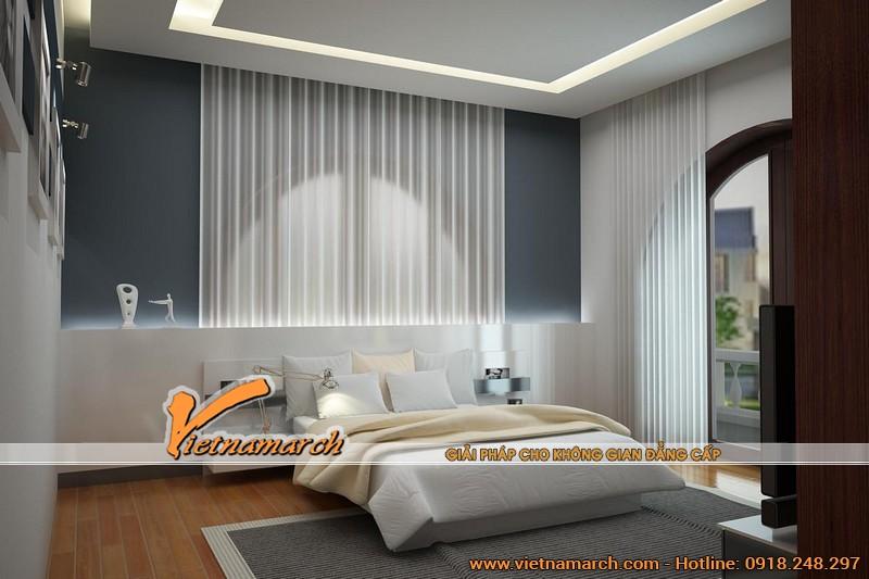 Thiết kế nội thất trong phòng ngủ