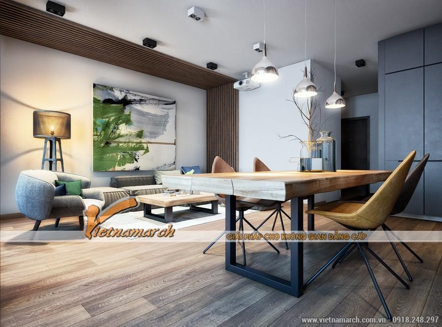 Mặc dù có thiết kế là 3 trong 1 nhưng lại đảm bảo mang đến 1 không gian vô cùng rộng rãi và thoáng