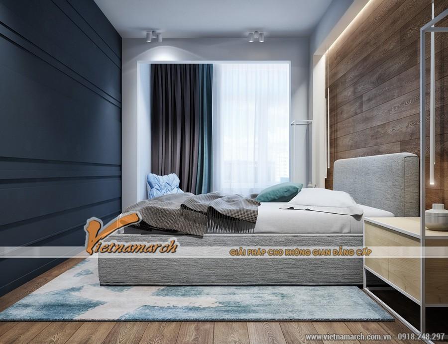 Phòng ngủ hiện đại và ấm cúng