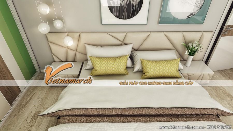 Sử dụng các phối màu thông minh, mang lại sự trẻ trung và ấm áp cho căn phòng