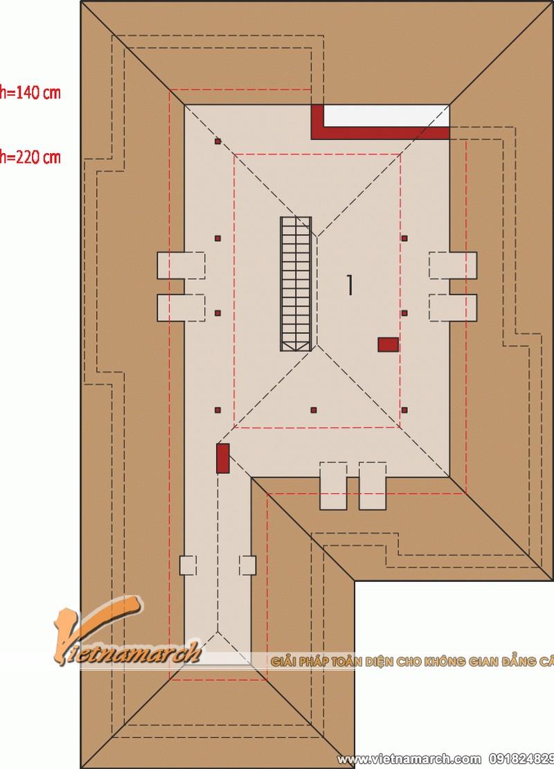Thiết kế nhà cấp 4 đẹp hiện đại tại Hải Phòng 05