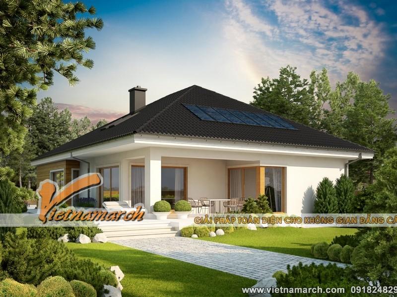 Thiết kế nhà cấp 4 hiện đại chi phí thấp dưới 200 triệu tại Hải Phòng