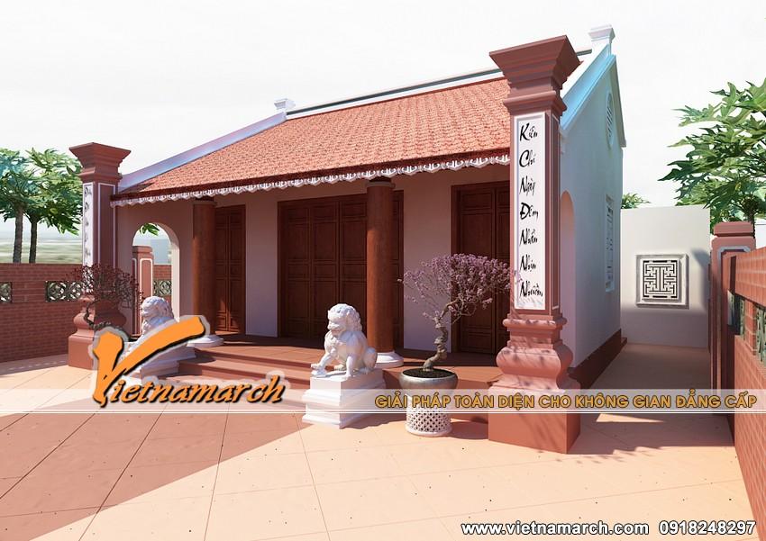 Vietnamarch chuyên thiết kế nhà thờ họ các công trình thiết kế nhà thờ, nhà cổ, nhà truyền thống theo yêu cầu của khách hàng.