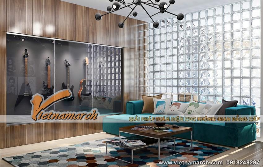 Thiết kế nội thất chung cư Times City căn hộ nhà chị Lan Anh 01