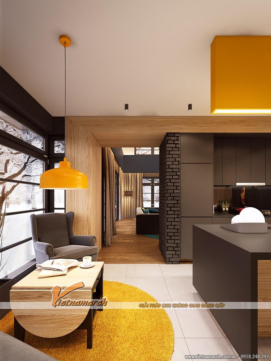 Thiết kế Nội thất phòng bếp - Thiết kế nội thất nhà phố đẹp