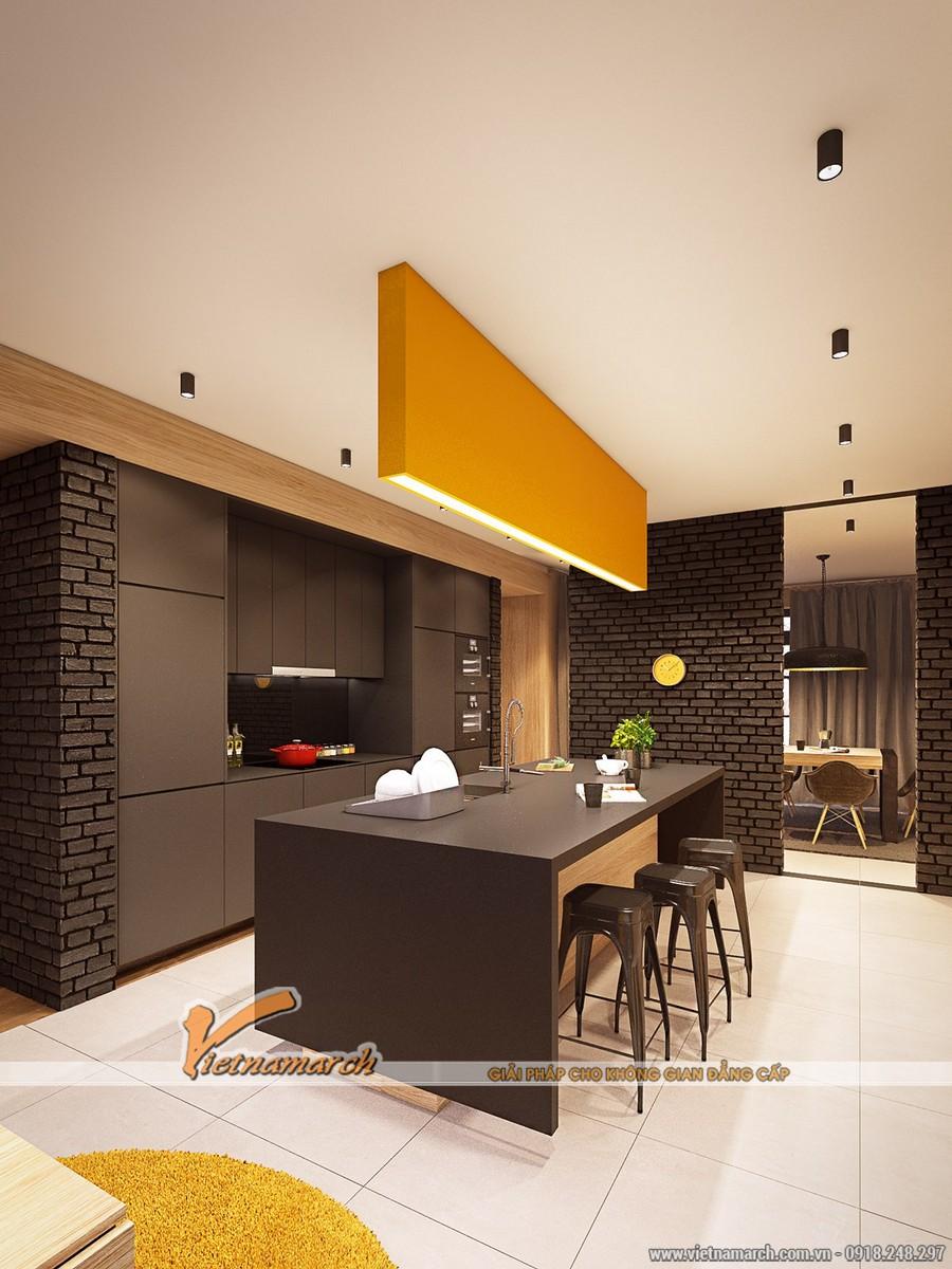 Nội thất phòng bếp - Thiết kế nội thất nhà phố đẹp tại Hải Phòng