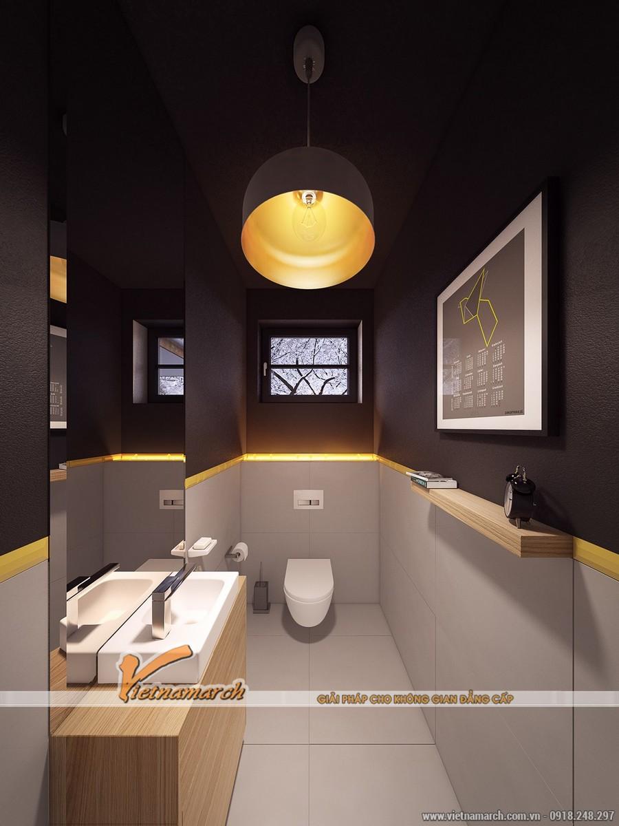 Nội thất phòng tắm - Thiết kế nội thất nhà phố đẹp tại Hải Phòng