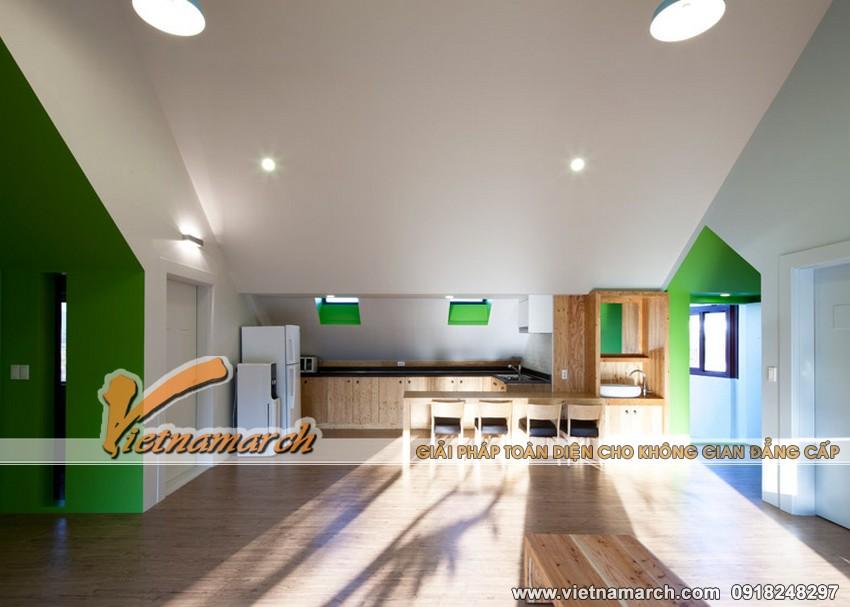 """Ý tưởng thiết kế trường học cho trẻ, ngôi trường """"nhà trong nhà"""" 05"""