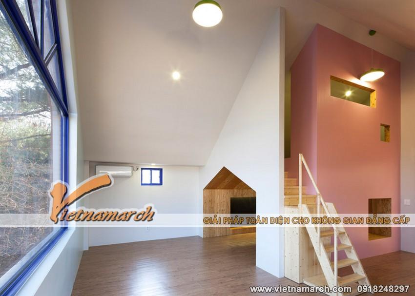 """Ý tưởng thiết kế trường học cho trẻ, ngôi trường """"nhà trong nhà"""" 06"""