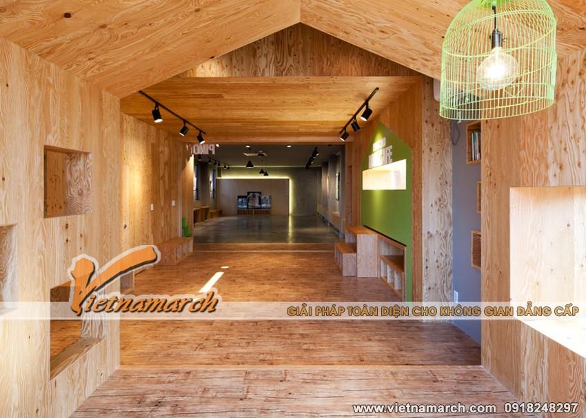 """Ý tưởng thiết kế trường học cho trẻ, ngôi trường """"nhà trong nhà"""" 09"""