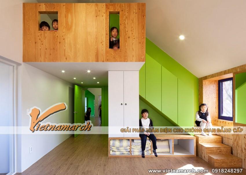 """Ý tưởng thiết kế trường học cho trẻ, ngôi trường """"nhà trong nhà"""" 12"""