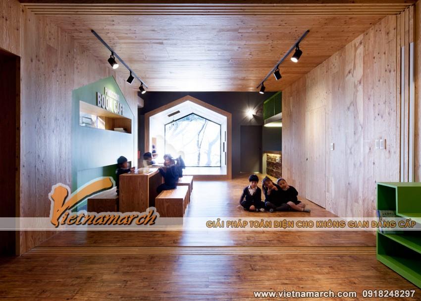 """Ý tưởng thiết kế trường học cho trẻ, ngôi trường """"nhà trong nhà"""" 13"""