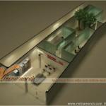 Tư vấn thiết kế nội thất Showroom  Toshiba – 532 Đường Láng