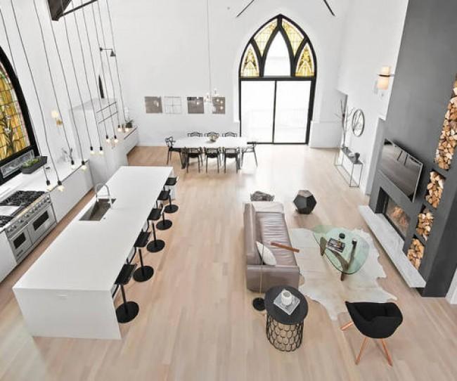 Thiết kế nội thất tuyệt vờ trong ngôi biệt thự hiện đại