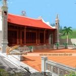 Thiết kế nhà thờ cho nhà ông Nguyễn Bá Huy – Ứng Hòa – Hà Nội