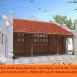 Mẫu nhà thờ có hậu cung của dòng họ Hoàng tại Xuân Phương – Nam Từ Liêm