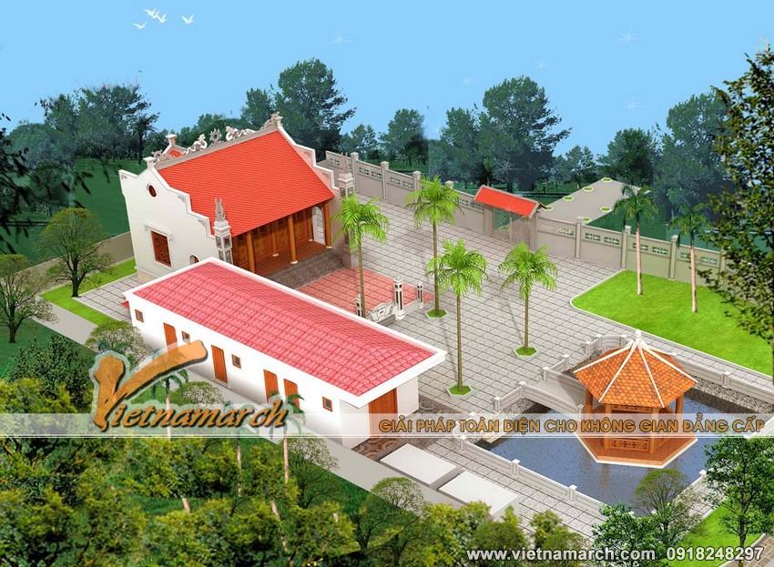 Thiết kế nhà thờ họ chữ Đinh