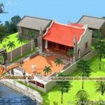 Mẫu nhà thờ họ có diện tích nhỏ dòng họ Trần tại Hưng Hà – Thái Bình
