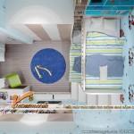 Thiết kế nội thất chung cư căn hộ 148m2