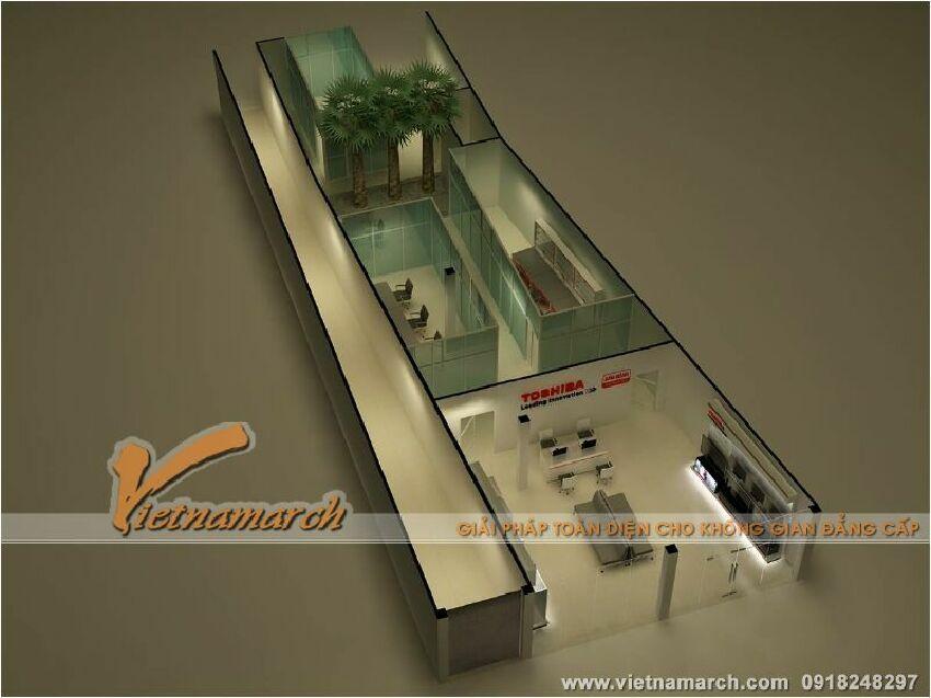 Tư vấn thiết kế nội thất Showroom  Toshiba - 532 Đường Láng