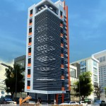 Thiết kế kiến trúc nhà cao tầng cho ban viễn thông