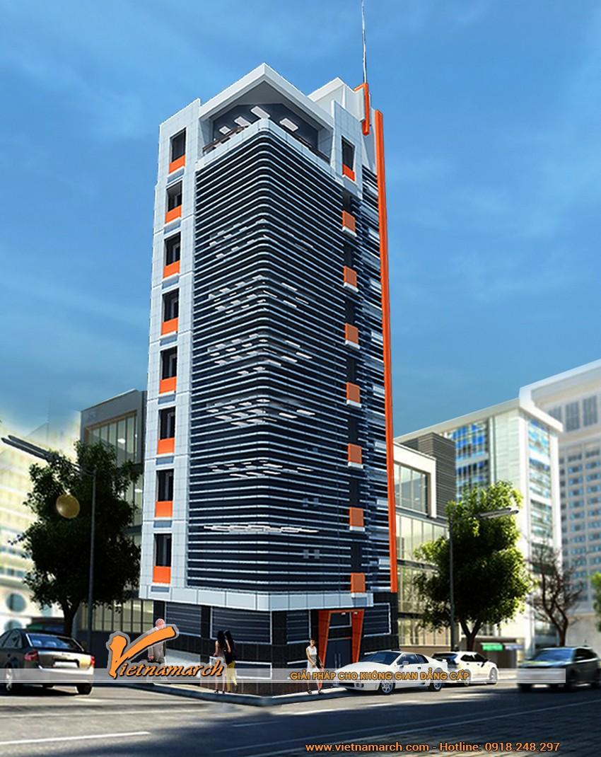 Công trình thiết kế nhà cao tầng Ban Viễn Thông chủ đầu tư anh Nam