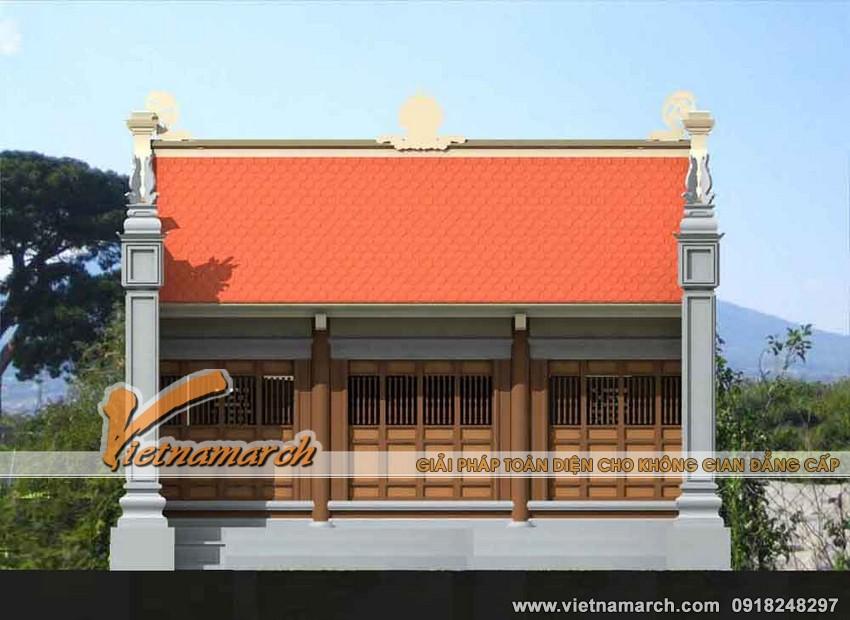 Thiết kế nhà thờ mặt bằng chữ nhị cho nhà Bác Hoàng ở Đại Từ - Thái Nguyên. 02
