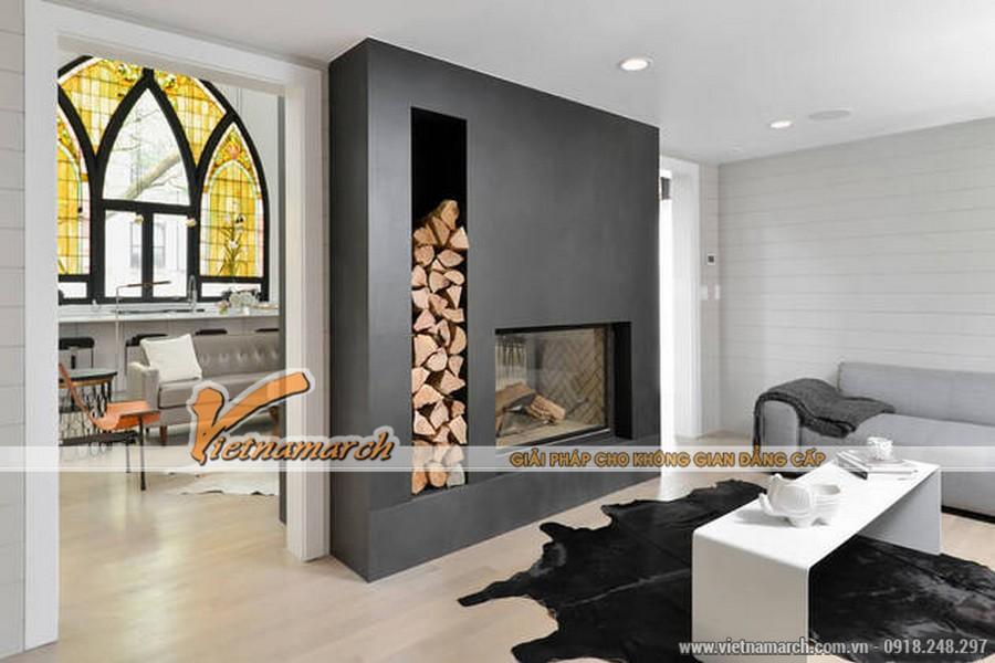 Thiết kế nội thất phòng khách ấn tượng
