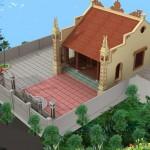 Mẫu nhà thờ họ có diện tích nhỏ tại Hải Dương