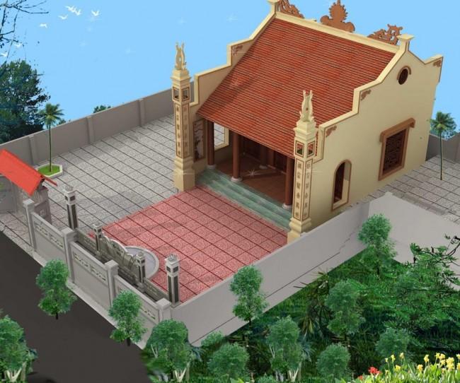 Thiết kế thi công nhà thờ họ