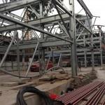 Hình ảnh mới nhất về giàn thép đỗ xe cao tầng Nguyễn Công Hoan