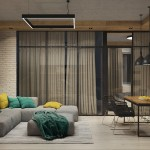 Thiết kế nội thất hiện đại trong căn hộ nhà chị Hòa chung cư New Skyline