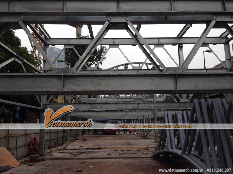Đây sẽ là giàn thép đỗ xe cao tầng lớn nhất, chứa được nhiều xe nhất tại Hà Nội, tính đến thời điểm hiện tại