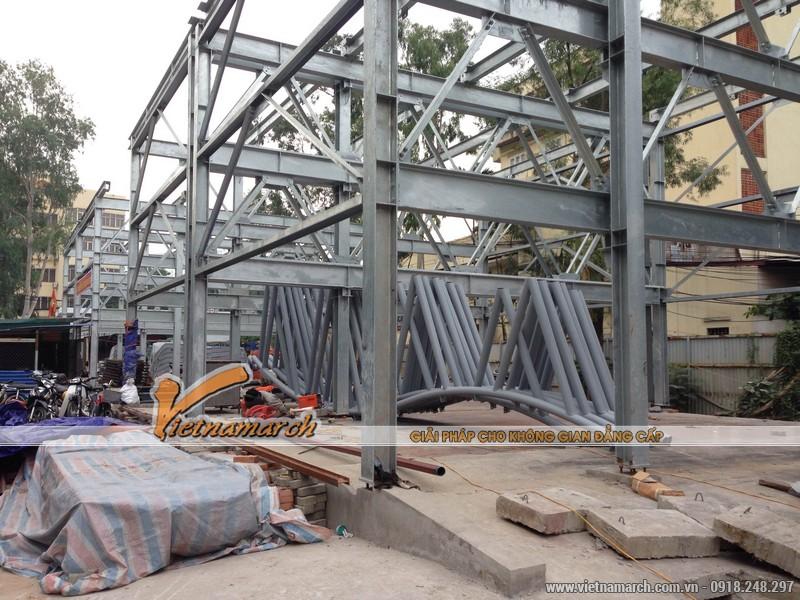 Giàn thép đỗ xe cao tầng Nguyễn Công Hoan có mức đầu tư 71 tỷ đồng