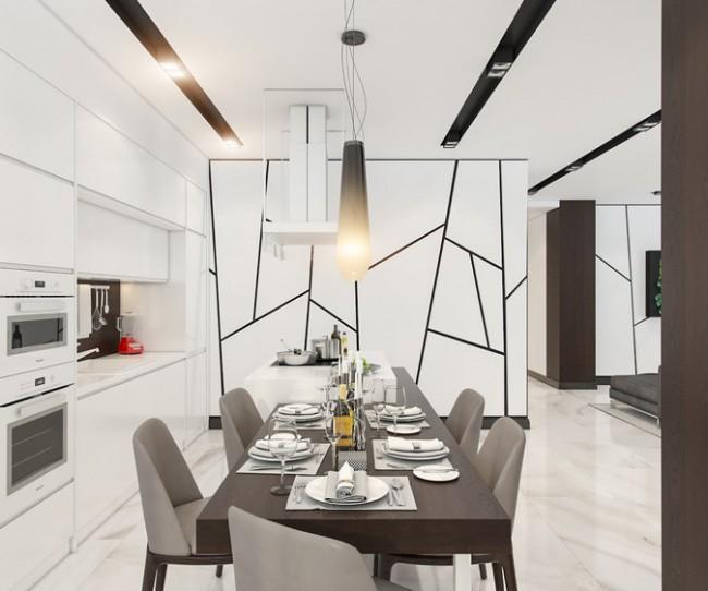 Thiết kế nội thất chung cư New SkyLine - căn hộ 10.32B3