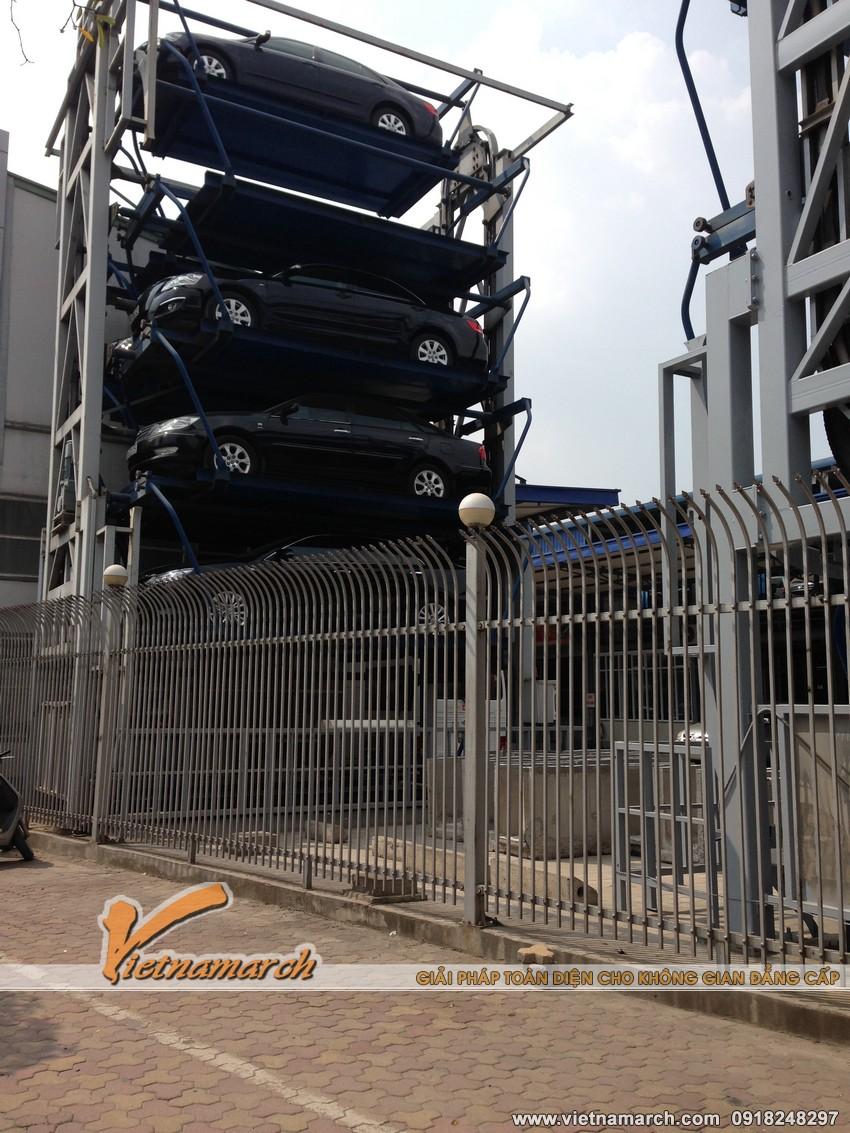 Giải quyết được phần lớn tình trạng thiếu điểm đỗ an toàn cho các xe oto tại Hà Nội